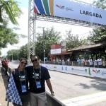 Tatiana Lemos (Natação) e Luciano